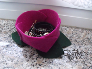 tutorial diy felt basket jewelry case 51