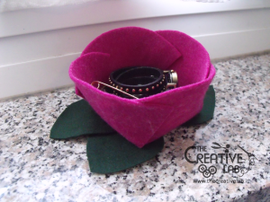 tutorial diy felt basket jewelry case 57