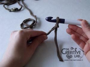 tutorial cinturino orologio fettuccia fai da te 16