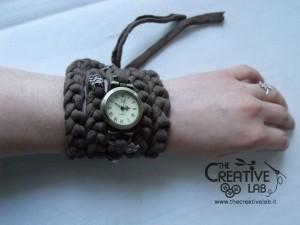 tutorial cinturino orologio fettuccia fai da te 35