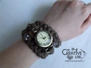 tutorial cinturino orologio fettuccia fai da te 40