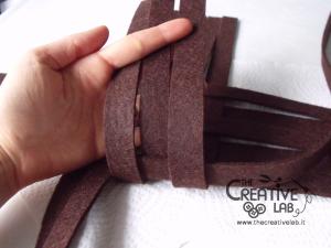 tutorial woven felt basket diy 14