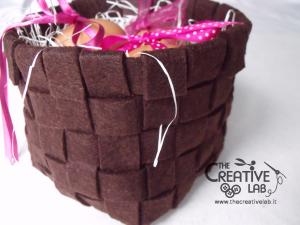 tutorial woven felt basket diy 42