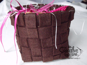 tutorial woven felt basket diy 43