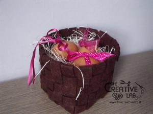 tutorial woven felt basket diy 49