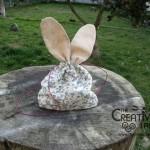 Tutorial come fare un sacchetto a forma di coniglietto fai da te