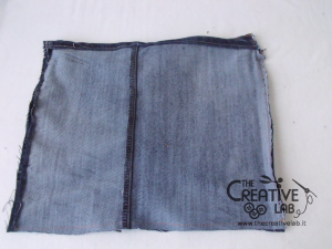 tutorial custodia porta pc laptop fai da te riciclare jeans diy 08