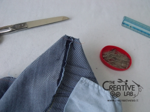 tutorial custodia porta pc laptop fai da te riciclare jeans diy 13