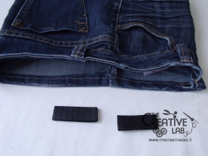 tutorial custodia porta pc laptop fai da te riciclare jeans diy 21