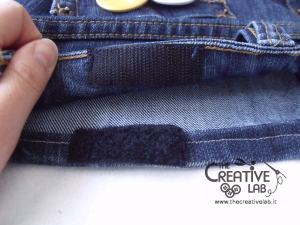 tutorial custodia porta pc laptop fai da te riciclare jeans diy 23