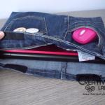 Tutorial: come fare una custodia porta pc con dei vecchi jeans