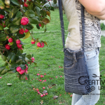 Tutorial: come creare un borsello con un vecchio paio di jeans!