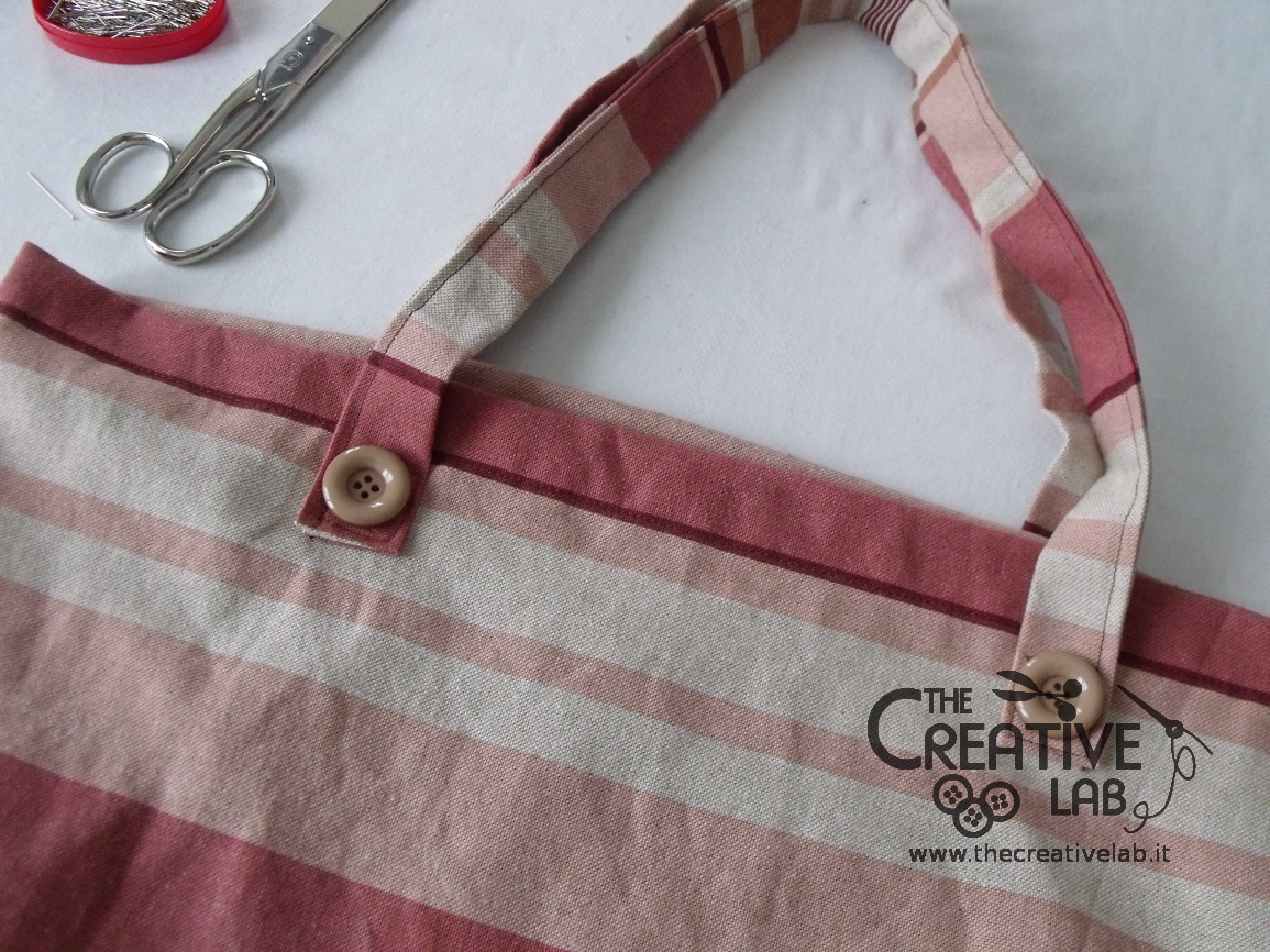 Borse Di Stoffa A Sacco : Tutorial come fare una borsa per il mare the creative lab