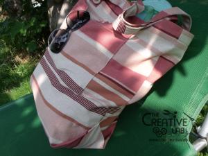 tutorial come fare borsa mare spiaggia fai da te 93