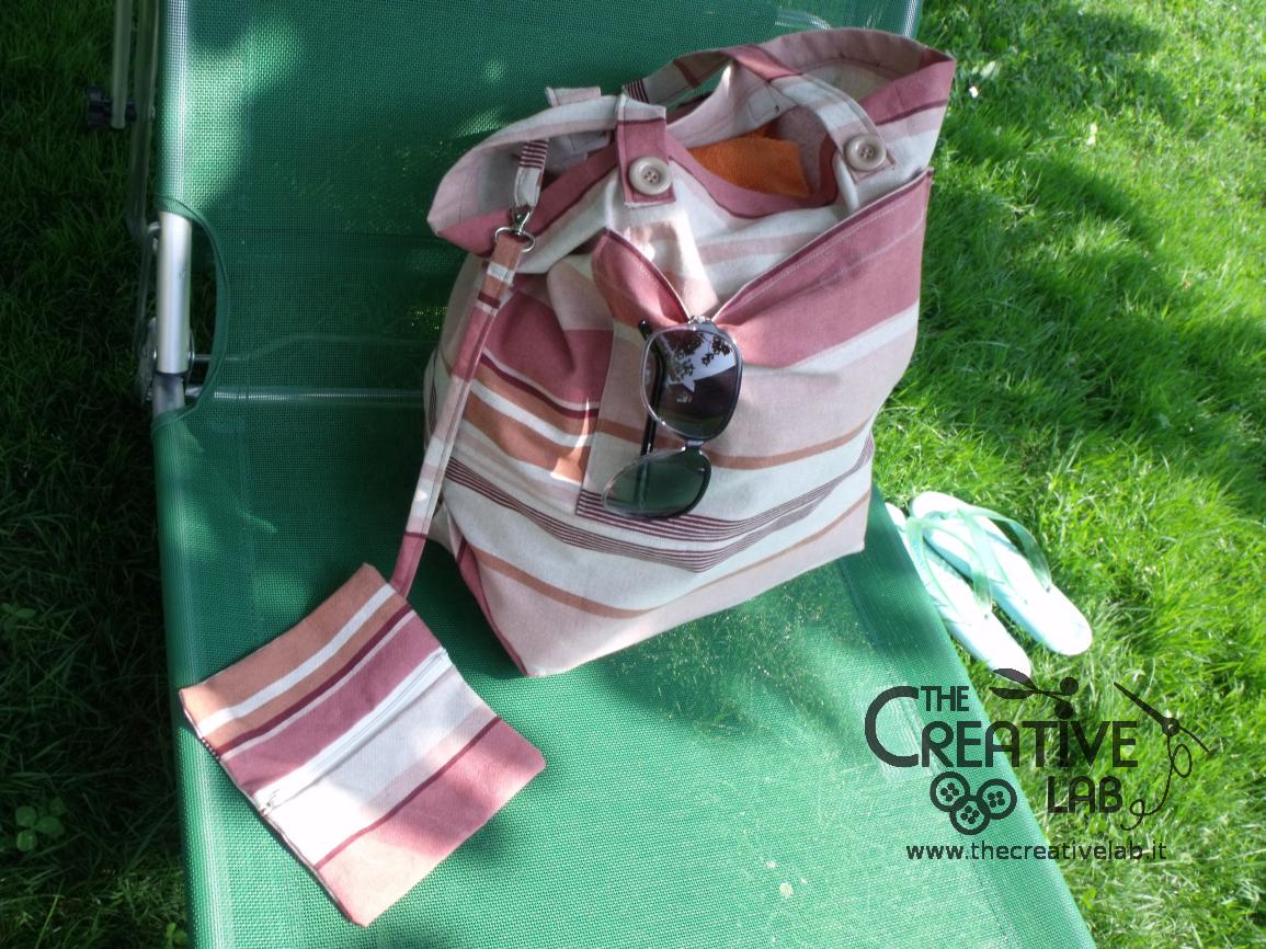 Favoloso Tutorial: come fare una borsa per il mare – The creative lab HZ09