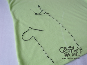 tutorial personalizzare decorare t-shirt maglietta papaveri tulle 08