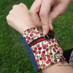 Tutorial: come fare un borsellino o portafoglio da polso fai da te