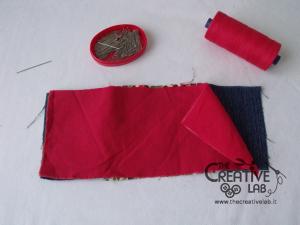 tutorial borsello portafoglio polso marsupio fai da te 37