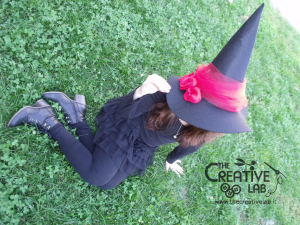 tutorial cappello strega halloween costume fai da te 01