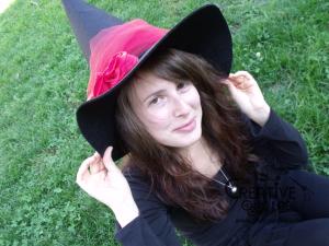 tutorial cappello strega halloween costume fai da te 03