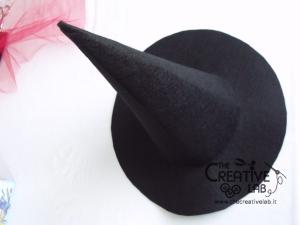 tutorial cappello strega halloween costume fai da te 27