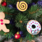 Tutorial: dolci di pannolenci diventano addobbi per l'albero di Natale