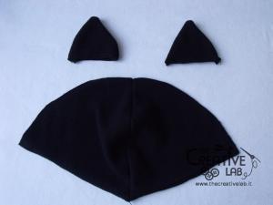 tutorial come fare cappello orecchie gatto fai da te 08