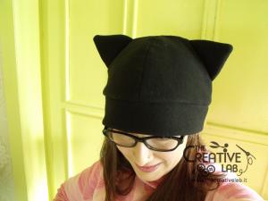 tutorial come fare cappello orecchie gatto fai da te 20