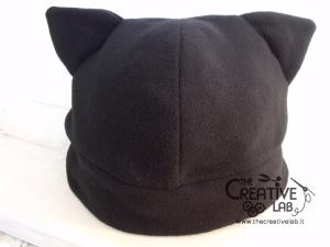 tutorial come fare cappello orecchie gatto fai da te 25