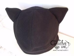 tutorial come fare cappello orecchie gatto fai da te 27