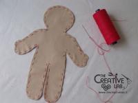 tutorial come fare pigotta corpo bambola stoffa pezza 05