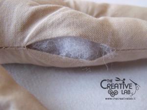 tutorial come fare pigotta corpo bambola stoffa pezza 10