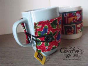 tutorial come fare copri tazza cozy mug natale 23