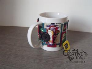tutorial come fare copri tazza cozy mug natale 29