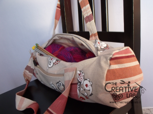 tutorial come fare borsa portalavoro gomitoli lana ferri 01