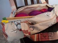tutorial come fare borsa portalavoro gomitoli lana ferri 03