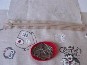 tutorial come fare borsa portalavoro gomitoli lana ferri 10