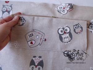 tutorial come fare borsa portalavoro gomitoli lana ferri 13