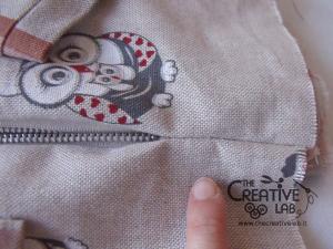 tutorial come fare borsa portalavoro gomitoli lana ferri 22