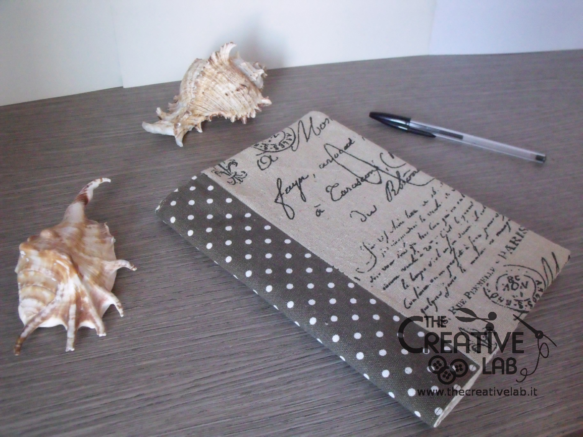 Estremamente Tutorial: copertina di stoffa per quaderno e agenda – The creative lab FU28