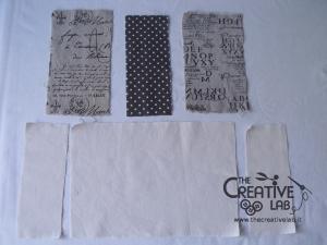tutorial come fare copertina fodera agenda quaderno stoffa 06