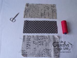 tutorial come fare copertina fodera agenda quaderno stoffa 09