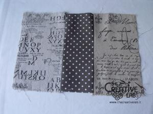 tutorial come fare copertina fodera agenda quaderno stoffa 12