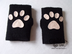 tutorial come fare guanti gatto fai da te neko kawaii 06