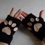 Tutorial carnevale: guanti da gatto fai da te