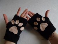 tutorial come fare guanti gatto fai da te neko kawaii 09