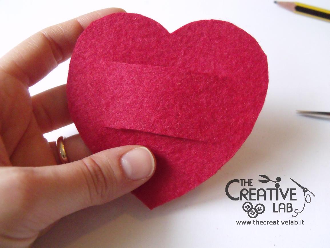 Favorito Tutorial San Valentino: cuore portatovagliolo fai da te – The  LE54