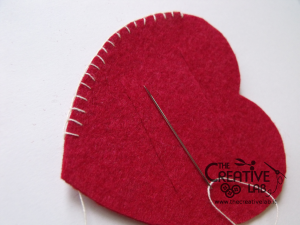 tutorial come fare portatovagliolo san valentino fai da te cuore 05
