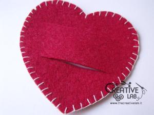tutorial come fare portatovagliolo san valentino fai da te cuore 06