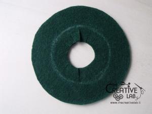 tutorial mini cilindro leprecauno gnomo feltro fai da te 12